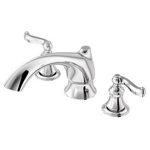 Aqueous Faucet Scroll Double Handle Desk ..