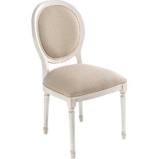 Round Back Upholstered Dining Chair (Set ..