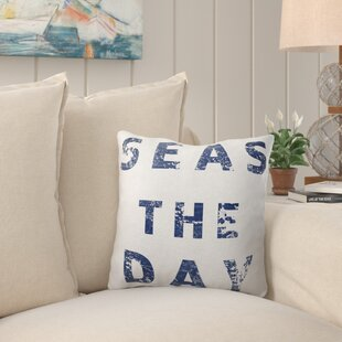 Puig Seas the Day Throw Pillow