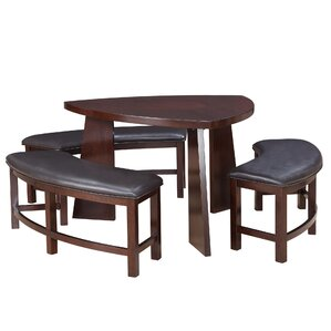 Anton 4 Piece Dining Set by Red Barrel Studio