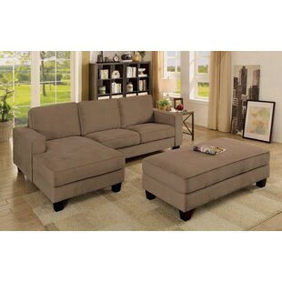 Today Sale Only Lockwood Sectional with Ottoman Winston Porter