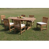 Rio 7 Piece Teak Dining Set