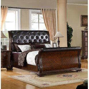 Hainault Upholstered Sleigh Bed
