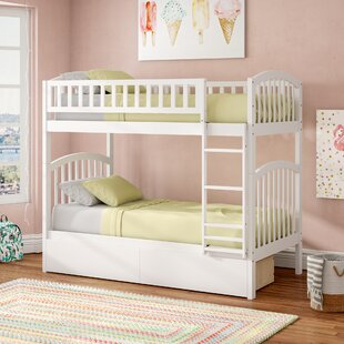 Compare & Buy Jackie Twin Over Twin Bunk Bed with Drawers by Viv + Rae Reviews (2019) & Buyer's Guide