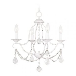 Marden Crystal 5-Light Candle Style Chandelier by House of Hampton