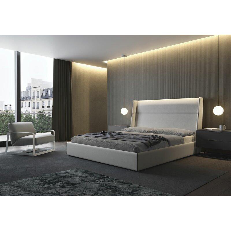 Orren Ellis Reposa Upholstered Platform Bed Wayfair