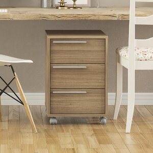 Hadley 3-Drawer Vertical Filing Cabinet