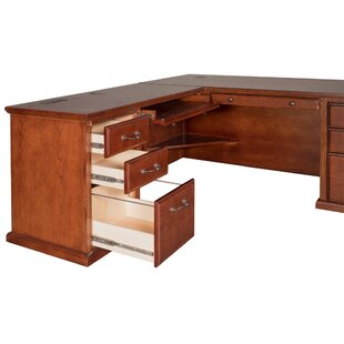 Reynoldsville Office 2 Piece L-Shape Desk Office Suite
