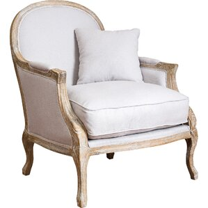 MacArthur Weathered Oak Armchair by Home Loft Concepts
