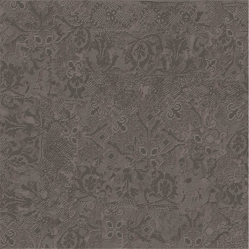 tapis gris fonce 235 x 235 porcelain fabric look tile in - Tapis Gris