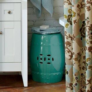 Birch Lane™ Glazed Ceramic Garden Stool