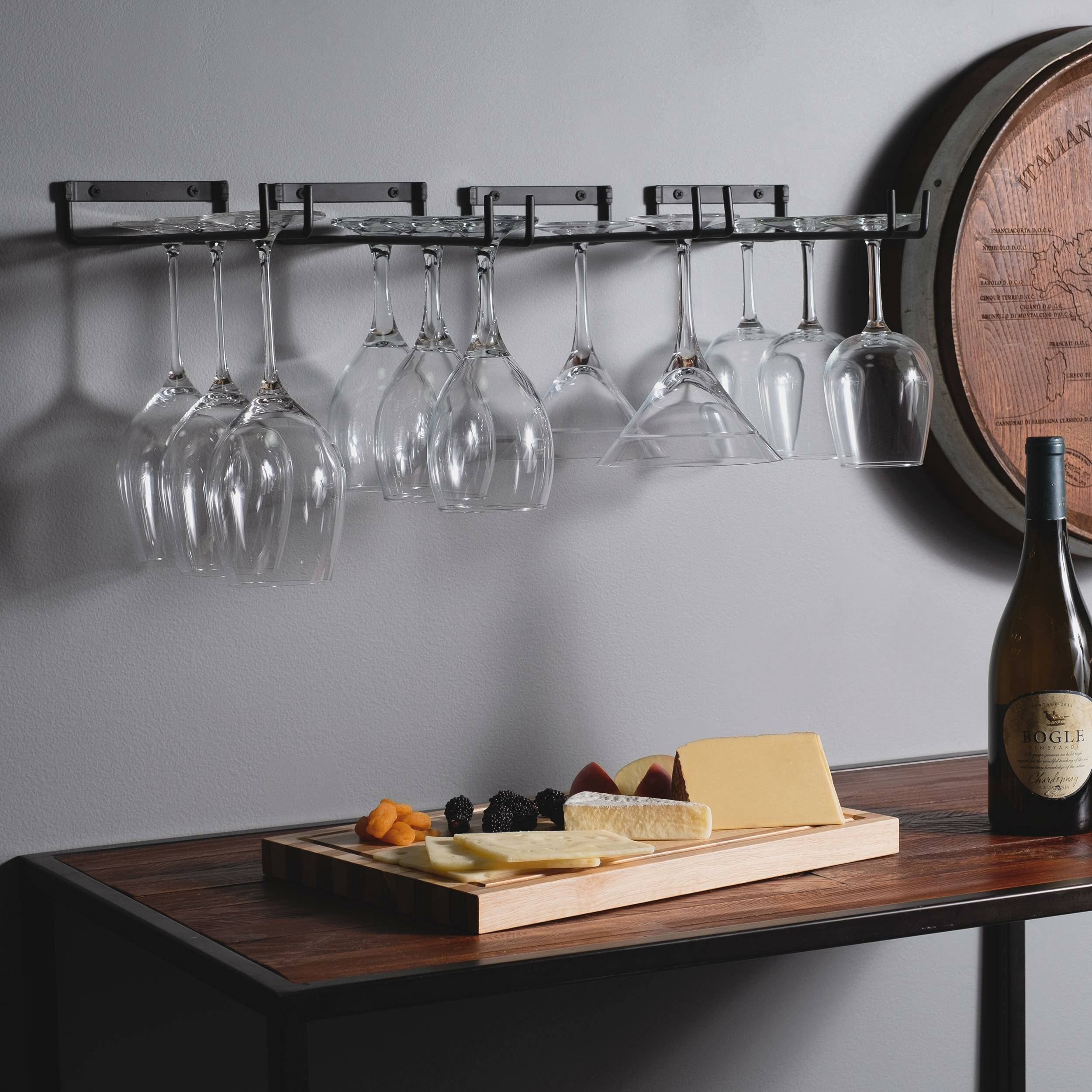 Wellman Chiraz Hanging Wine Glass Rack Reviews