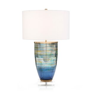 Striated Glass 31 Table Lamp