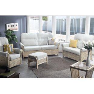 Free S&H Kiara 5 Piece Conservatory Sofa Set