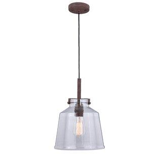 Heard 1-Light Bell Pendant..