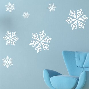Christmas Ice Crystals Wall Decal