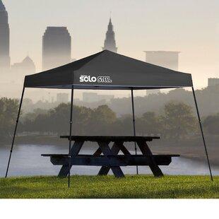 Solo Steel 10 Ft. W x 10 Ft. D Steel Pop-Up Canopy by QuikShade