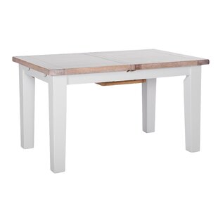 Chalky Extendable Dining Table By Longshore Tides