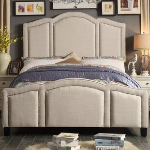 Belpre Queen Upholstered Panel Bed by Gracie Oaks