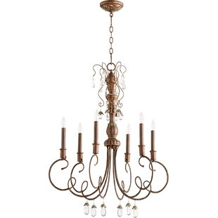 Lark Manor Jaune 6-Light Chandelier