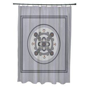 Bungalow Rose Anita Geometric Shower Curtain