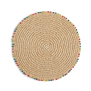 Bargain Cabo Bead 0.25 Placemat (Set of 4) By Fiesta