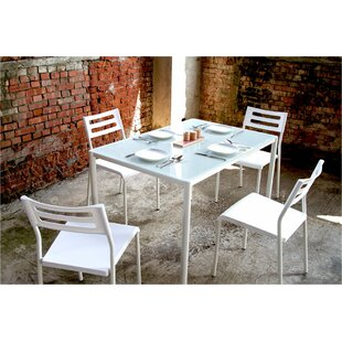 Tober 5 Piece Breakfast Nook Dining Set b..