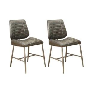 Tonkin Upholstered Dining Chair (Set Of 2) By Brayden Studio
