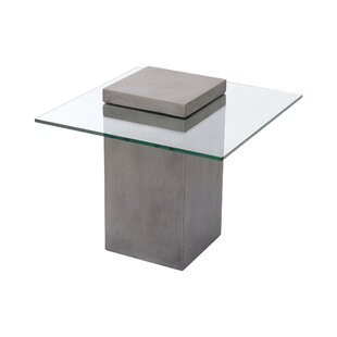 Misael End Table by 17 Stories
