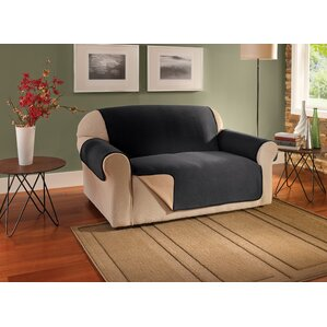 Box Cushion Loveseat Slipcover by Innovative Textile Solutions