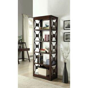Stegmair Wooden Standard Bookcase Red Barrel Studio
