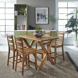 Emberly Forest Retreat High 5 Piece Dining Set by Millwood Pines