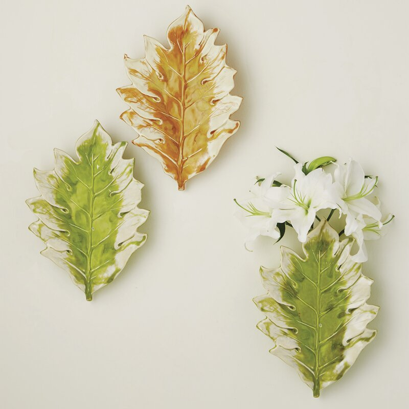 Williamsburg Tree Leaf Wall Vase