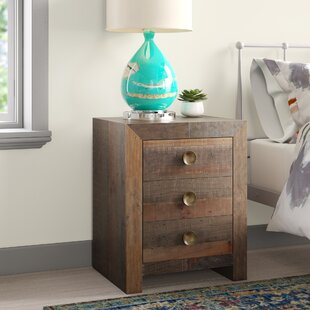 Abbey 3 Drawer Nightstand by Mistana