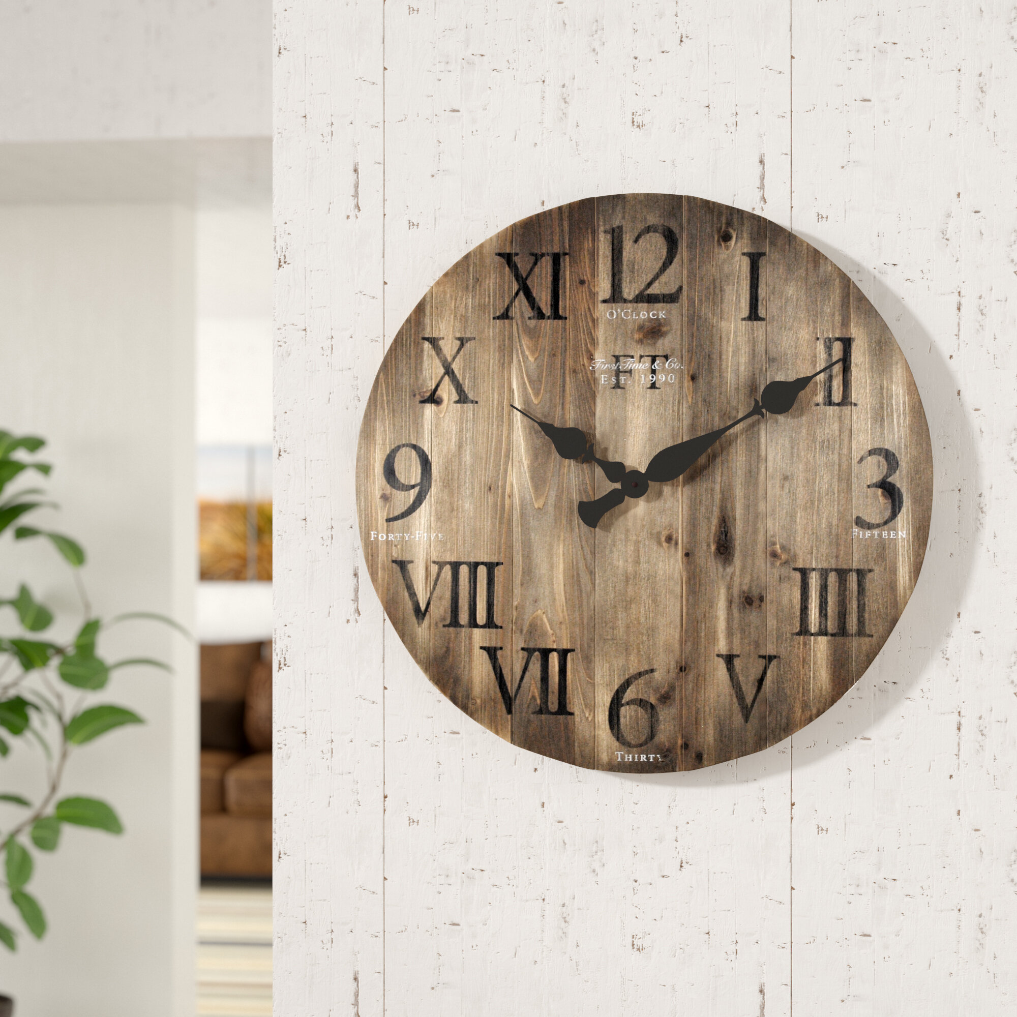 Millwood Pines Wall Clocks You Ll Love In 2021 Wayfair