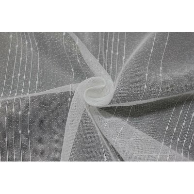 Gardine PePPer mit Kräuselband (1 Stück)  halbtransparent | Heimtextilien > Gardinen und Vorhänge > Gardinen | Weiß | ModernMoments