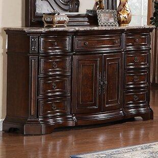 Hendricks  9 Drawer Combo Dresser by Astoria Grand