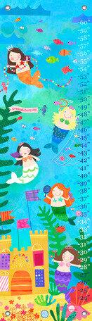 Oopsy Daisy Mermaids Growth Chart