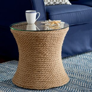 Brinda Round End Table