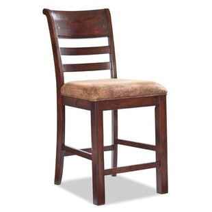 Alexandria Ladder Back Barstool with Cushion