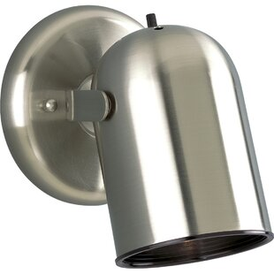 Bargain Australe Contemporary 50W Round Back Directional 1-Light Spotlight By Ebern Designs