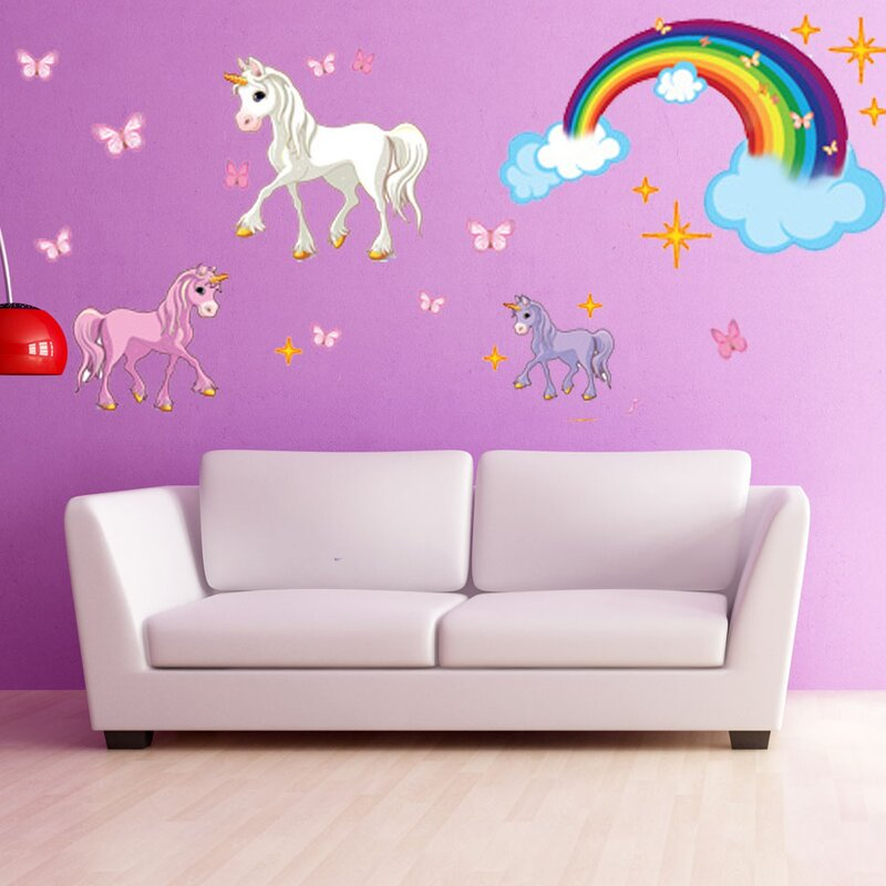 Delicieux Unicorn Wall Decal