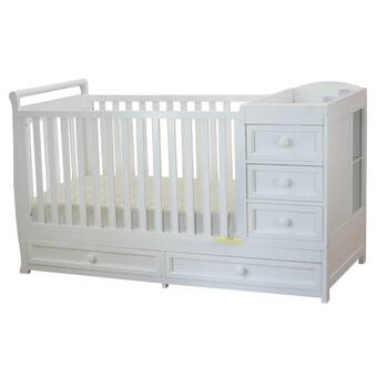 Wayfair Viv Rae Shiloh 2 In 1 Convertible Crib And Changer