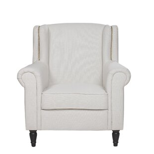 Riverside Wingback Chair by Charlton Home