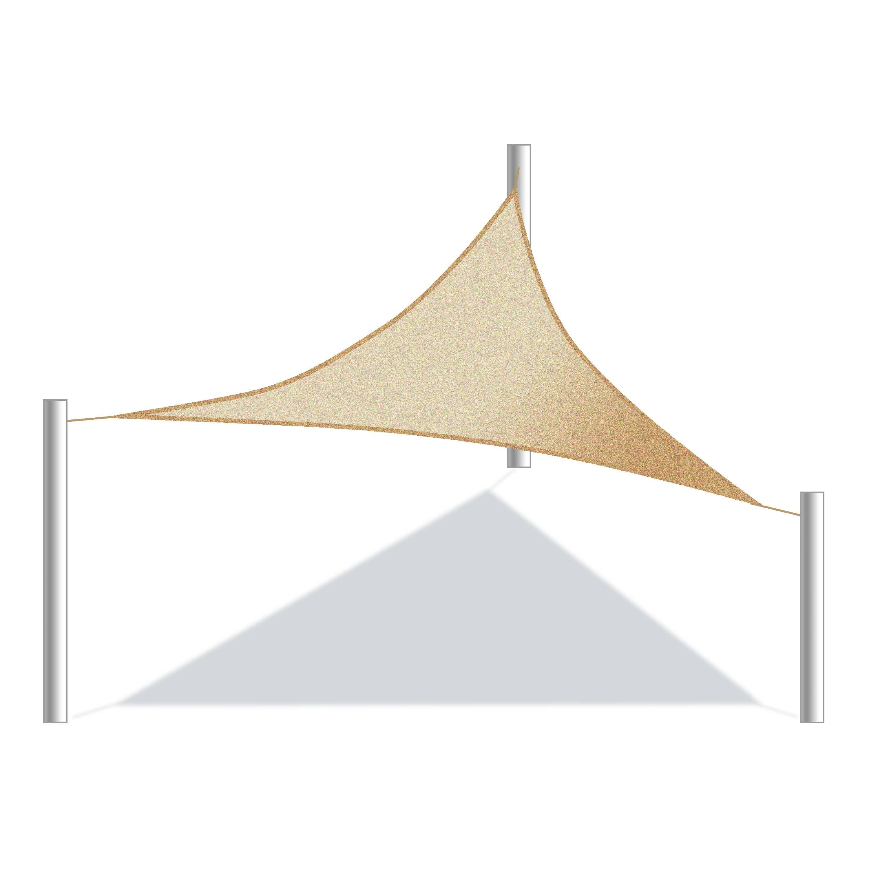 d64c10a703c ALEKO 10  Triangle Shade Sail   Reviews
