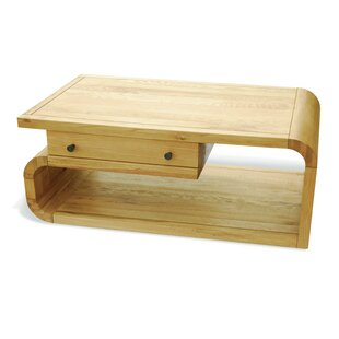Acton Solid Wood Coffee Table With Storage By Corrigan Studio