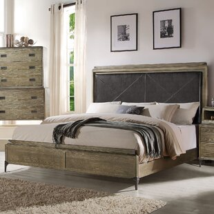 Sadee Upholstered Panel Bed by 17 Stories