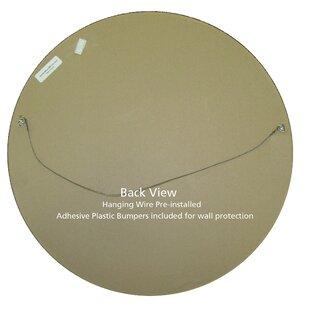 Meigs Framed Round Accent Mirror by Winston Porter