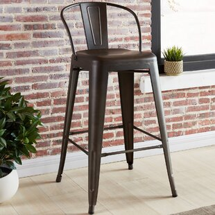 Lucinda 25.59 Bar Stool (Set of 4) Gracie Oaks