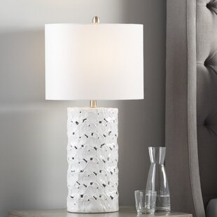 Read Reviews Treadwell Floral 29.5 Table Lamp By Latitude Run